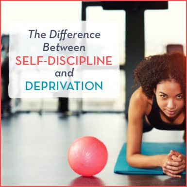 Understand the difference between discipline and deprivation.