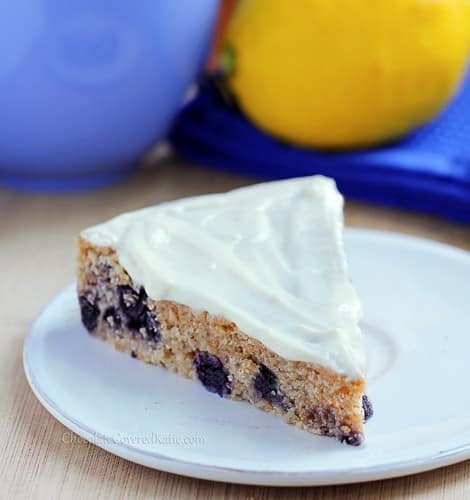 Recipe: Lemon Blueberry Yogurt Cake