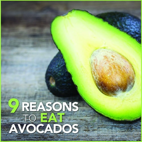 Avocados deserve a little love. What else can you bake, grill, fry, puree, and spread? Here are 9 reasons to eat this healthy and versatile fruit every day!
