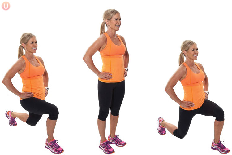 How to do alternating lunges