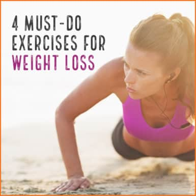 try these 4 exercises to lose weight and get in shape today