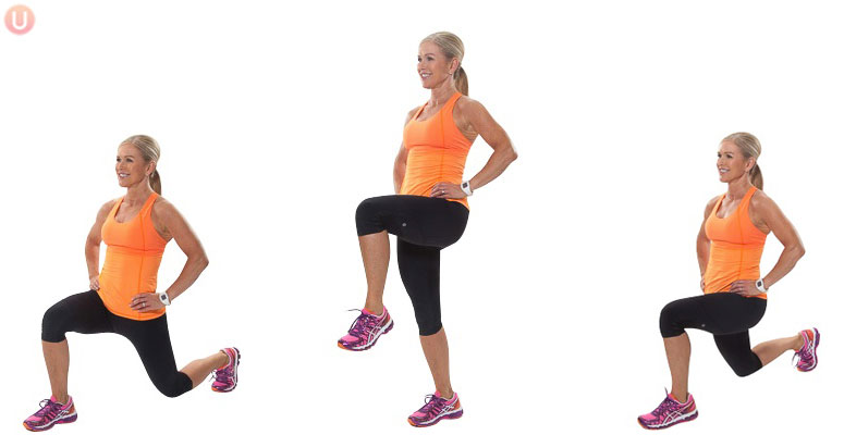 How To Do Walking Lunge