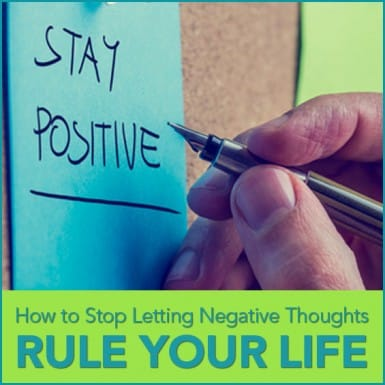 a post-it note that says STAY POSITIVE
