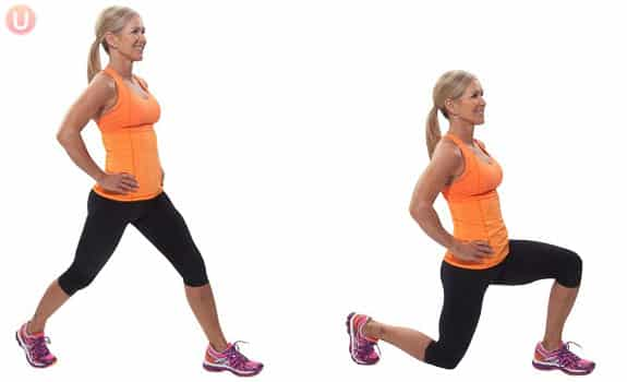 How to Do the Overhead Lunge
