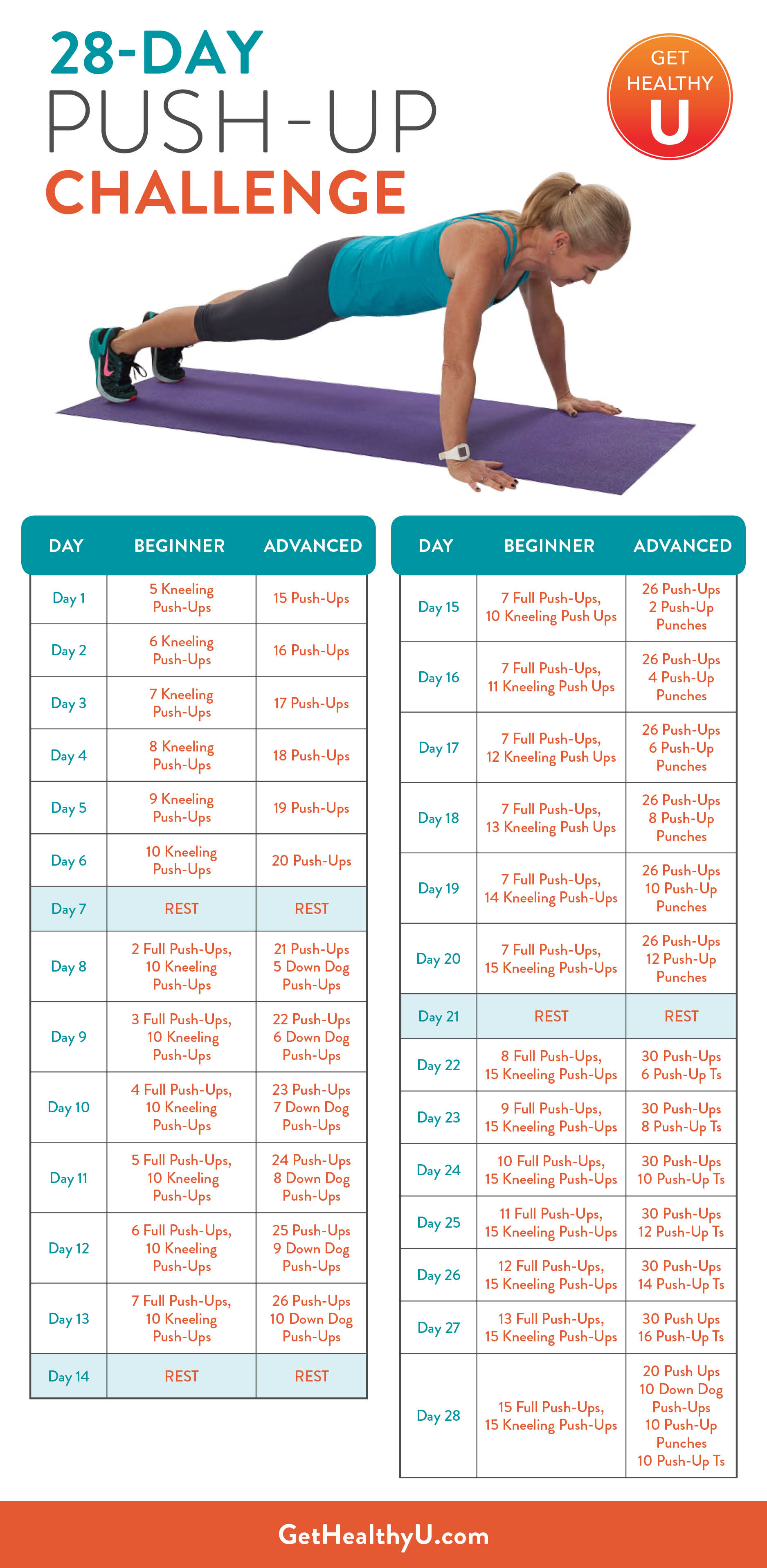 Girls Fit 28 Day Challenge Guide 1422 · 1067
