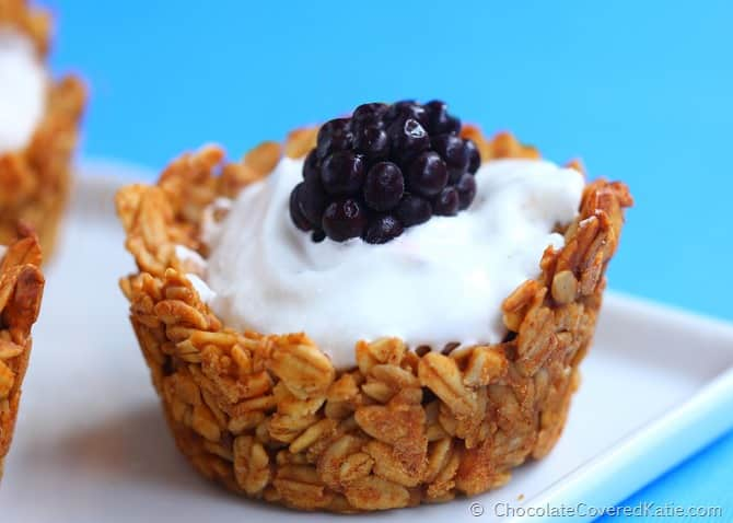 Healthy Muffin Tin Recipe with Granola