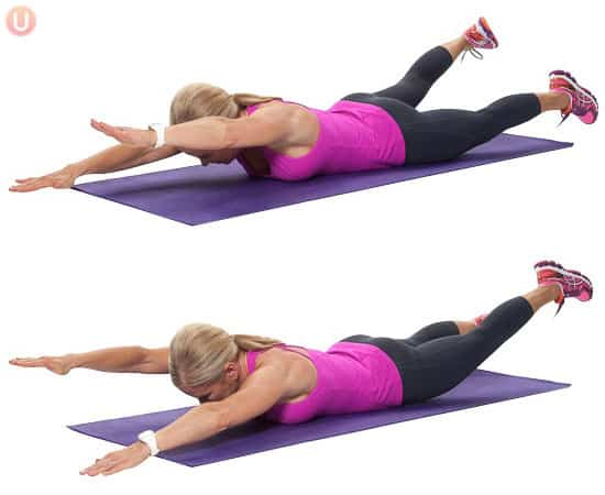5 Best Exercises To Beat Back Pain - Get Healthy U