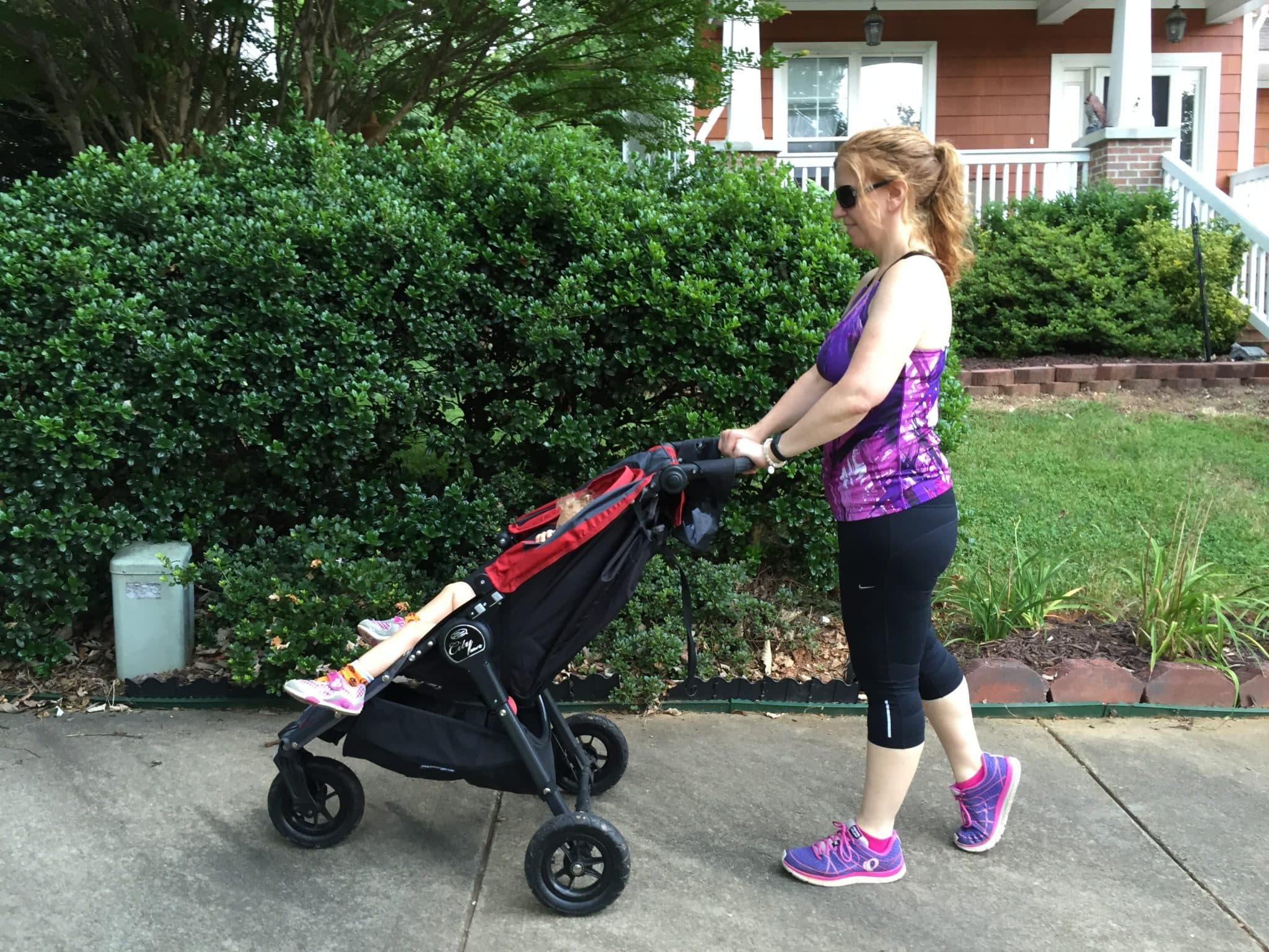 Take your baby on your next workout! This strength training workout requires a stroller and that's it. Double duty, baby!