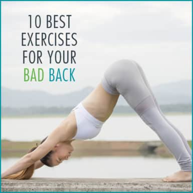 Do these 10 exercises to relieve back pain.