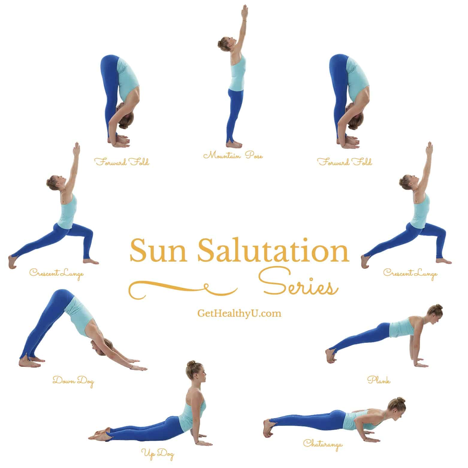 How To Do A Sun Salutation - Get Healthy U