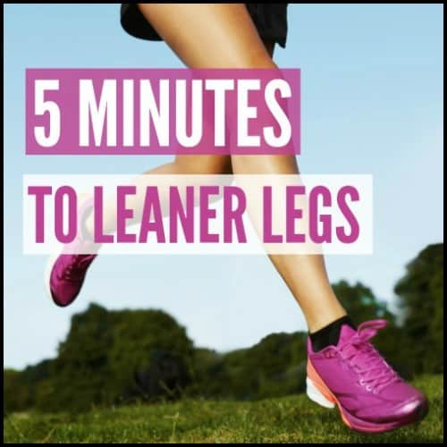 Are you ready for leaner legs? Then this is the workout for you.