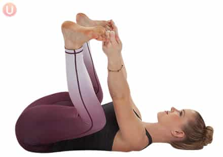 Yoga-Happy-Baby-Pose-Exercise-Headache-Relief