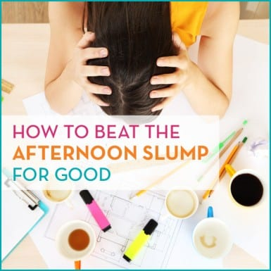 Nodding off after lunch? Here's how to beat the afternoon slump for good.