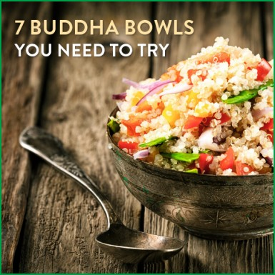 Learn how to make a buddha bowl with these 7 delicious recipes! #buddhabowl #recipe