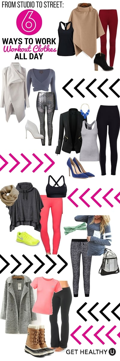 6 Ways To Wear Workout Clothes All Day