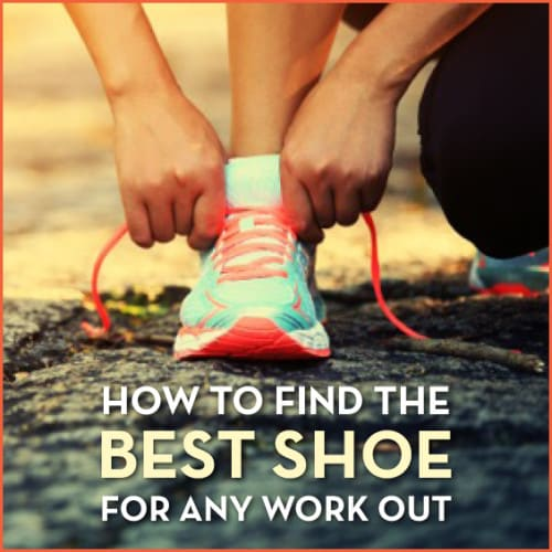 Find the best running shoe for any workout with this comprehensive guide.