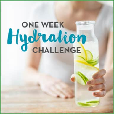 Getting healthy just got easy with this one week hydration challenge.