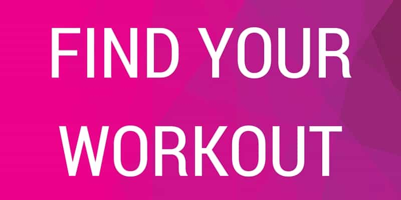 We have so many workouts, there's something for everyone at Get Healthy U.