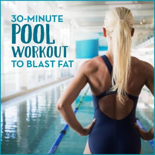 Burn calories and build strength this summer by trying this circuit-style pool workout.