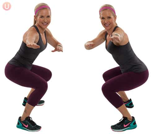 Surfer squats are a fun variation on traditional squats.