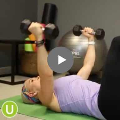 Learn how to do chest flys with this quick video.