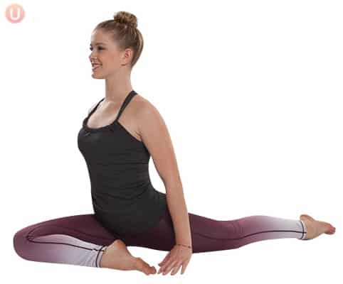 Pigeon pose is a fantastic hip opener you can do on a daily basis.
