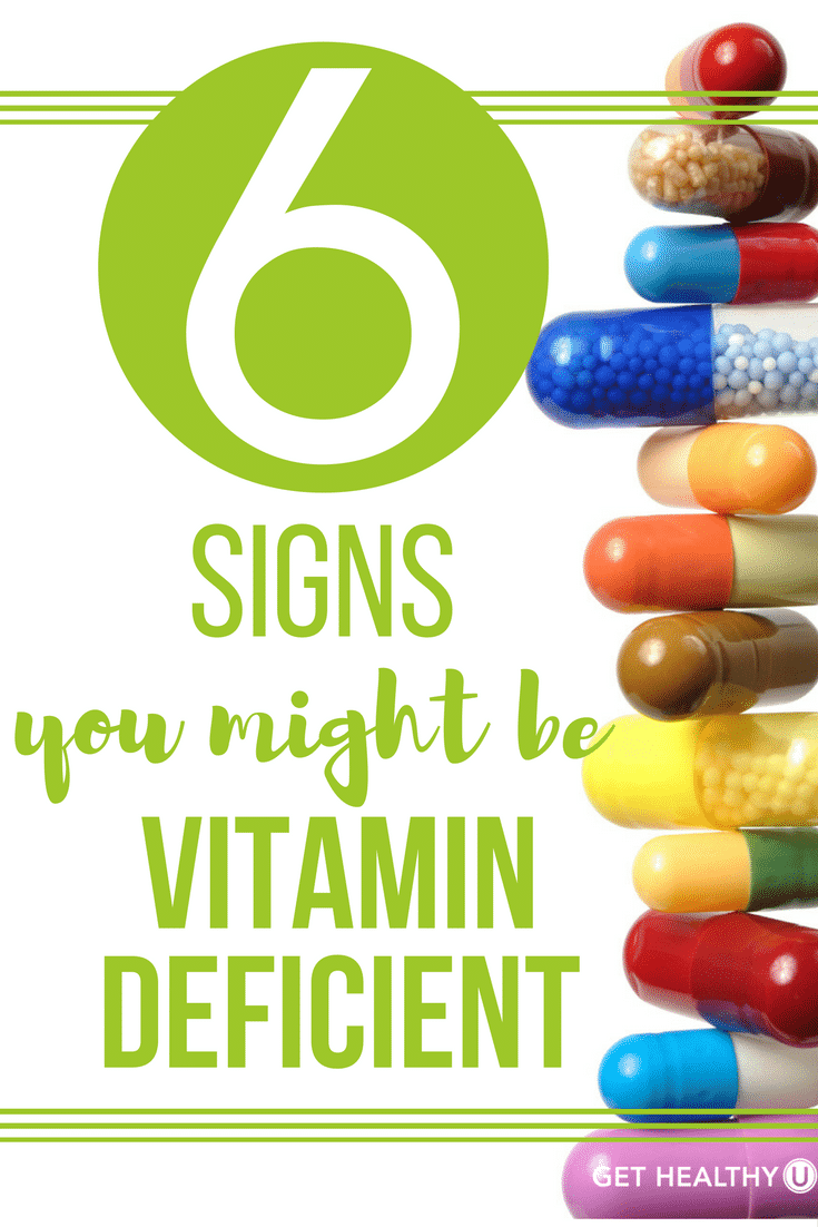 Check out this blog revealing the 6 signs pointing to vitamin deficiency!