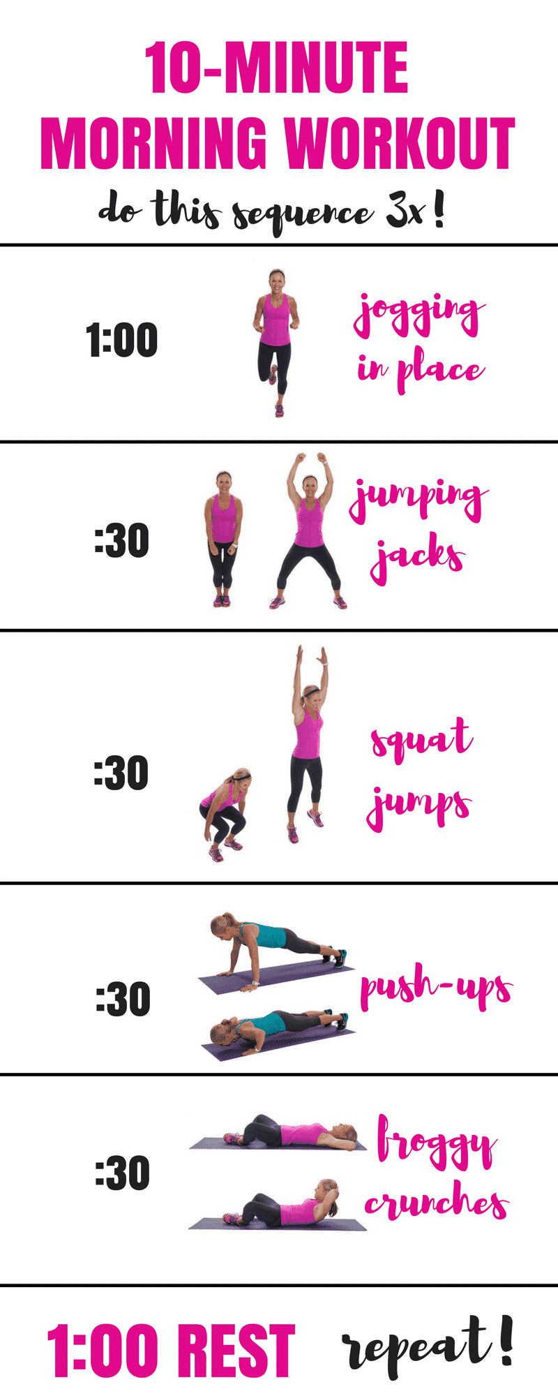 Morning Workout Routine At Home 28 Images The 15