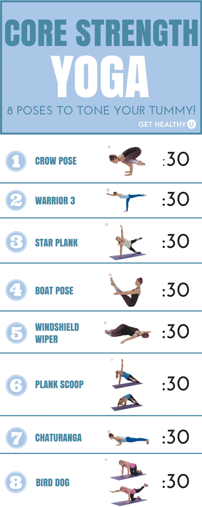 8 Challenging Yoga Poses For Core Strength