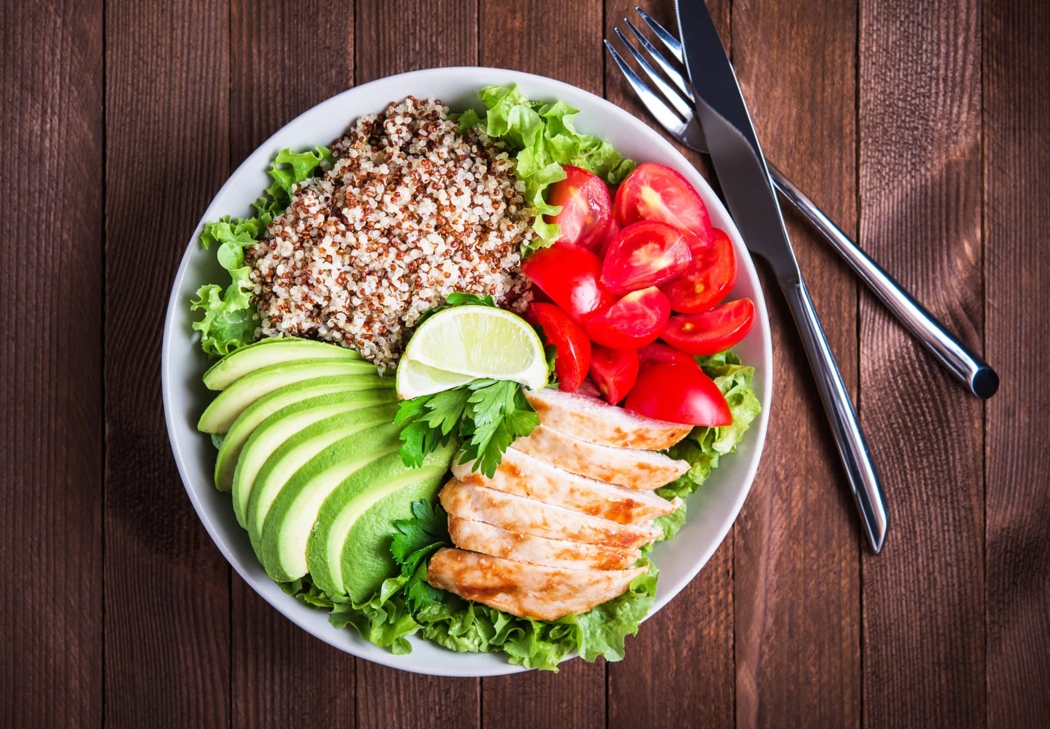 Try this healthy lunch option to lose belly fat.