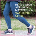 Here's What Actually Matters in a Walking Shoe