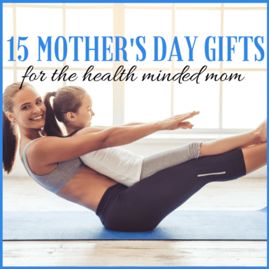 Give mom the gift of happiness, health and time this Mother's Day!
