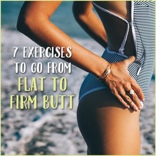 Want a bubble butt? Follow this simple exercise plan.